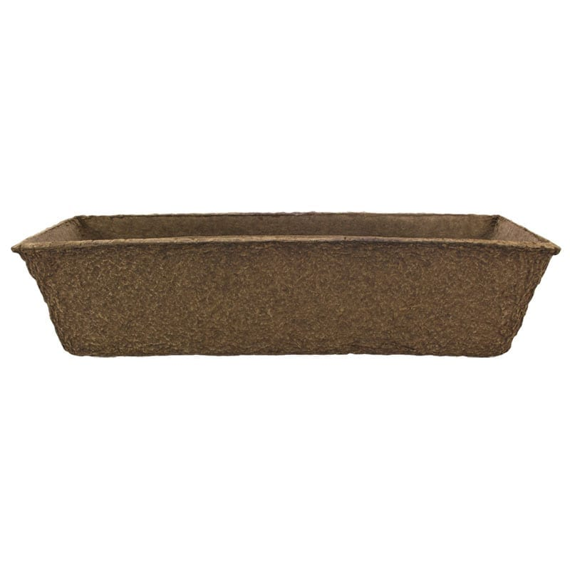 24″ Rectangle Fiber Patio Planter
