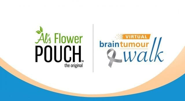 Al's Flower Pouch sponsoring first-ever #VirtualBrainTumourWalk